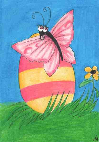 A Butterfly For Easter