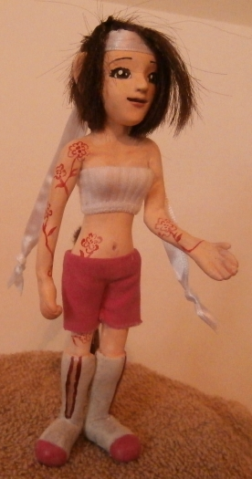 Polymer Clay Character3